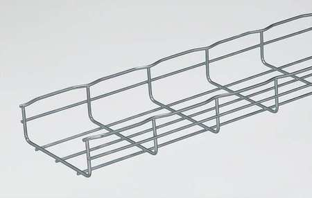 Wire Cable Tray Width 6 In L 6.5 Ft PK4 by USA Cablofil Wireways & Cable Trays