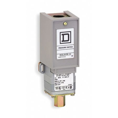 Pressure Switch Diaphragm 1.5 to 75 psi by USA Square D Electrical Pressure Switches