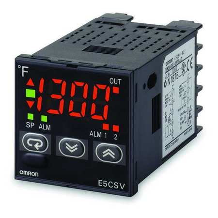 1/16 DIN Temp Controller On/Off Or PID Model E5CSVR1TF AC100 240 by USA Omron Industrial Automation Temperature Controllers