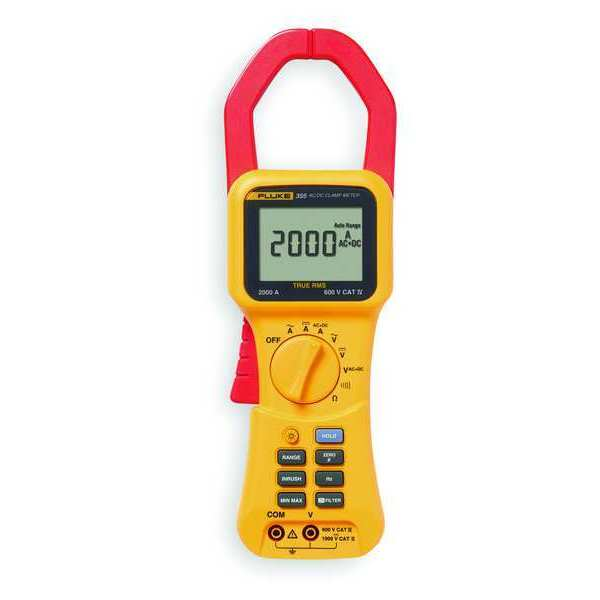 Clamp On Ammeter : Clamp on ammeter by fluke zoro
