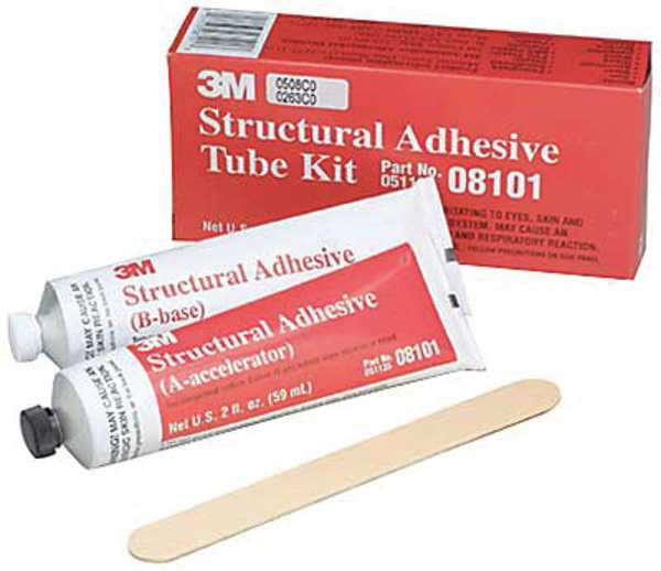 3m Structural Bonding Tape : M structural adhesive kit fl oz gray pk