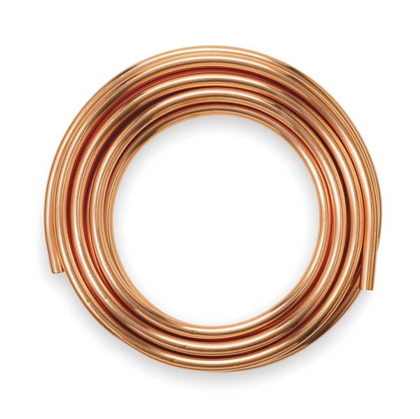 Type l and type k copper water tubing coils by mueller for Copper pipe types