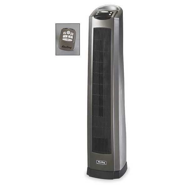 Pedestal Electric Heaters : Air king electric pedestal heater fan forced v