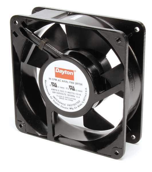 Dayton Ac Axial Fans : Square ac axial fans by dayton zoro