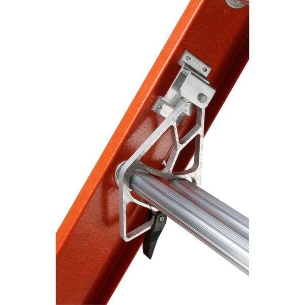 Extension Ladder Parts : Werner extension ladder fiberglass ft ia d