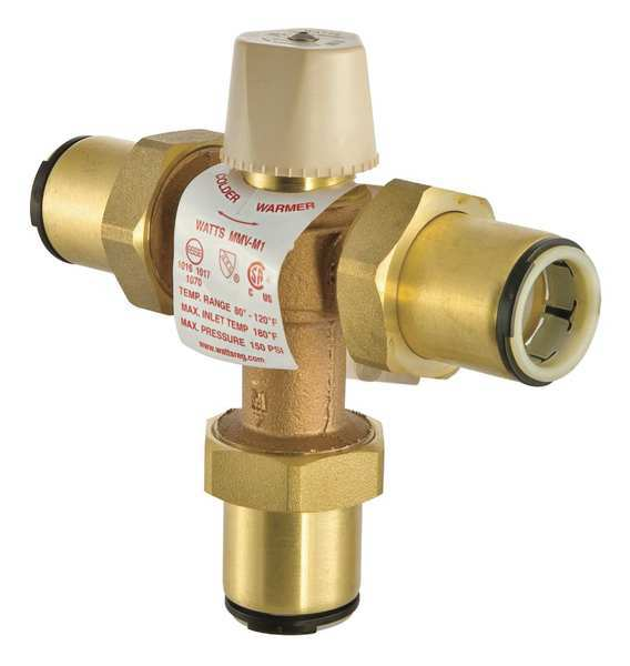 Thermostatic Mixing Valve Installation: Thermostatic Mixing Valve By Watts