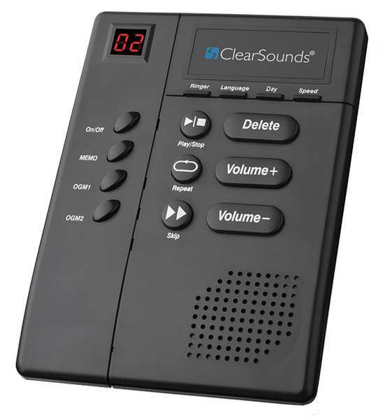 clearsounds answering machine