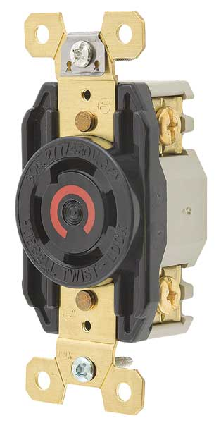 Nema Twist Lock Devices  Receptacle By Hubbell Wiring