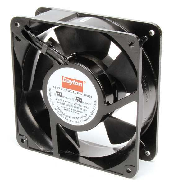 Dayton Axial Fans : Square ac axial fans by dayton zoro