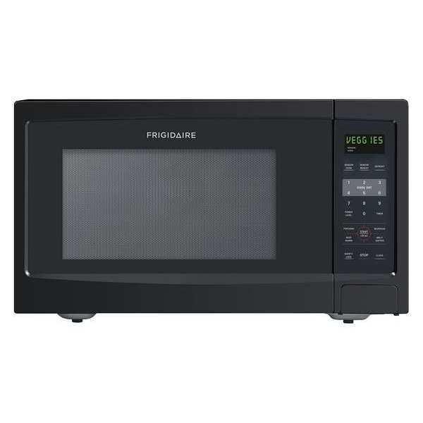 Frigidaire Microwave, Countertop, 1100W, Black FFCE1638LB Zoro.com