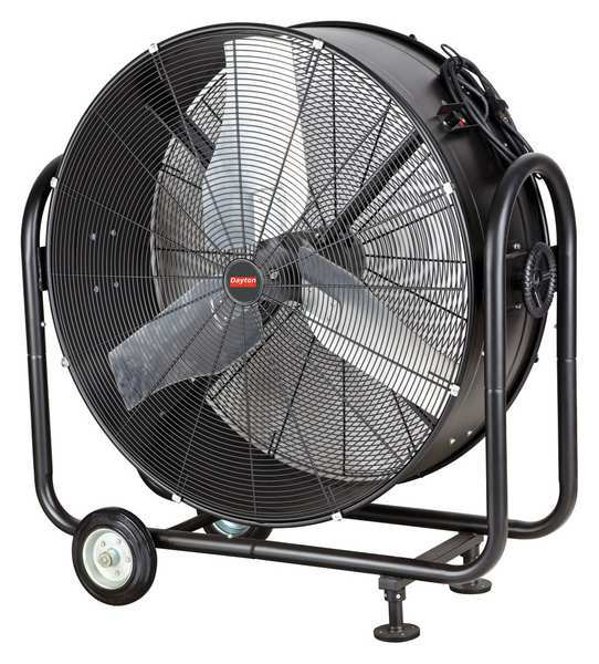 Commercial Air Circulator : Industrial mobile air circulators by dayton zoro