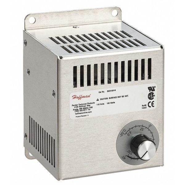 Duct Fan In An Enclosure : Hoffman fan forced enclosure heater w v dah a
