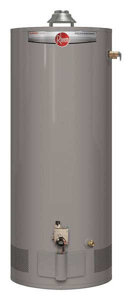 Rheem 40 Gal Residential Gas Water Heater Ng 34000 Btuh