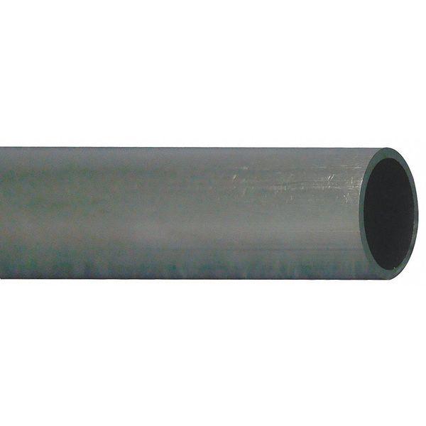 Seamless aluminum telescoping small diameter tubing and