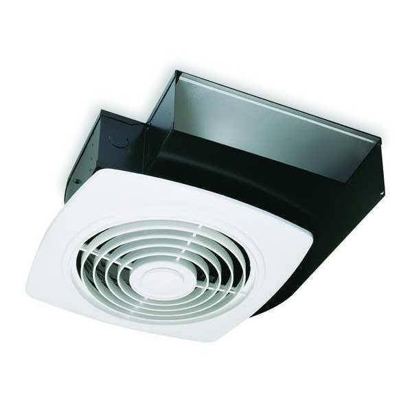 8 and 10 ceiling or wall exhaust fans with plastic grille - Commercial grade bathroom exhaust fans ...