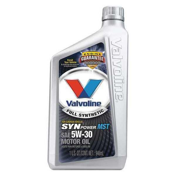 Valvoline motor oil 1 qt amber 5w 30 sae grade 787301 for Valvoline motor oil test