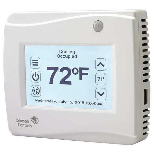 Johnson Controls Thermostat, PNP Open, Sensor Yes TEC3311-00-000 | Zoro.com