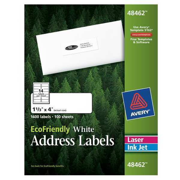 Laser and inkjet labels by avery for Avery template 5027
