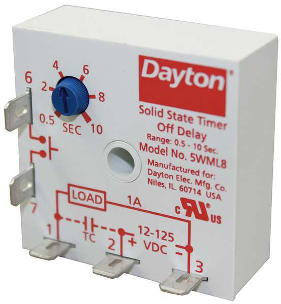 Solid state output time delay relays by dayton zoro