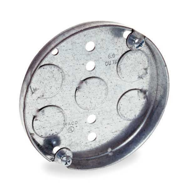 Raco Electrical Box Round Ceiling Pan 4x1 2in 293 Zoro Com