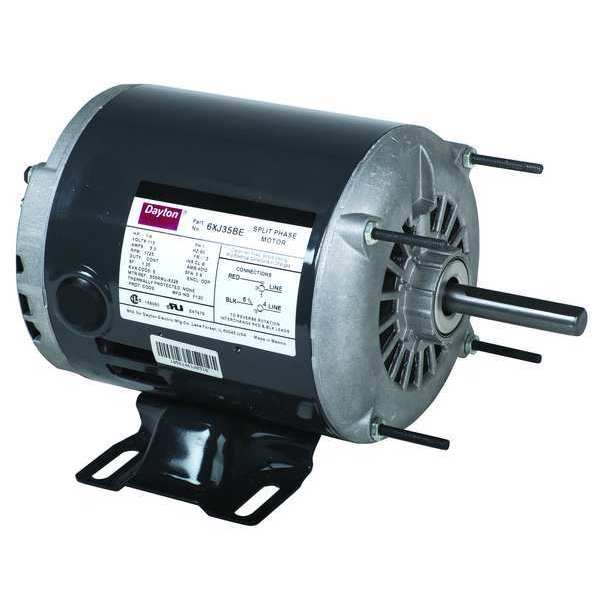Dayton General Purpose Motor Split Phase 1 4 Hp 6xj35