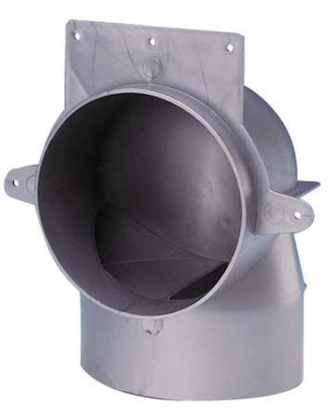 Fantech Duct Elbow Plastic 4 In Fel 4